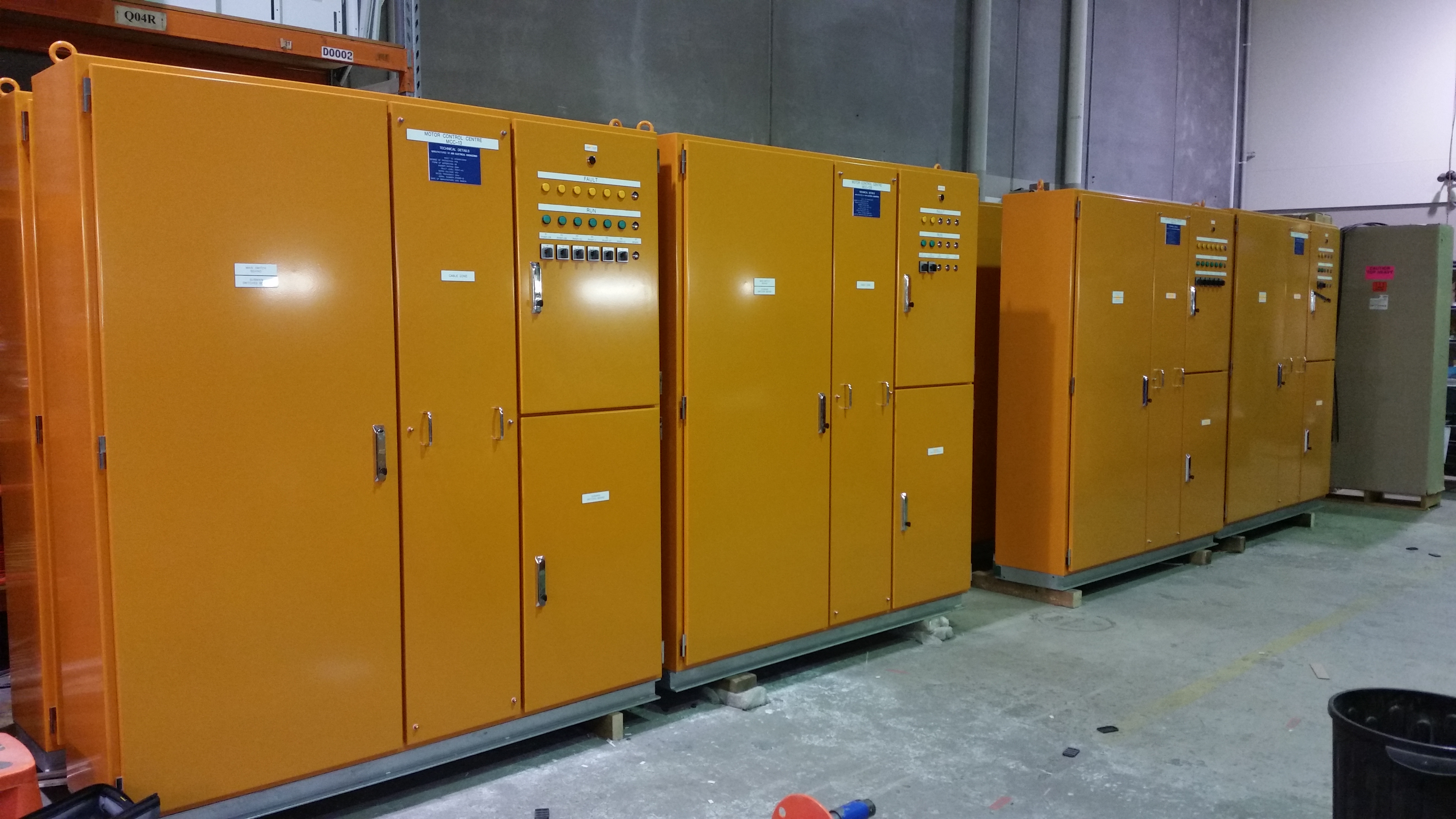 Notable Switchboard Projects Ara Electrical